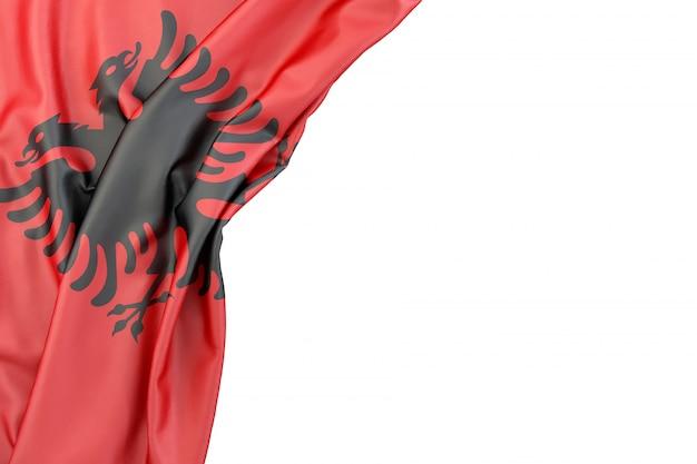 Bandiera dell'albania Foto Premium