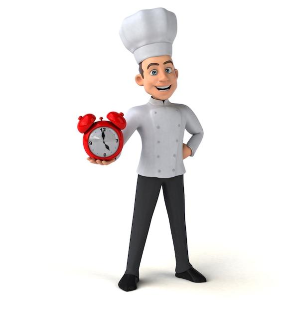 Chef divertente Foto Premium
