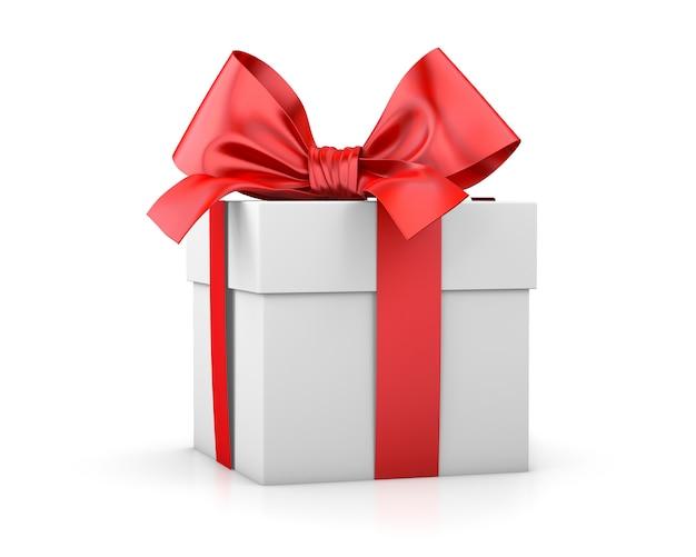 Confezione regalo o regalo isolato Foto Premium