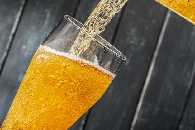 Bicchiere di birra Foto Premium