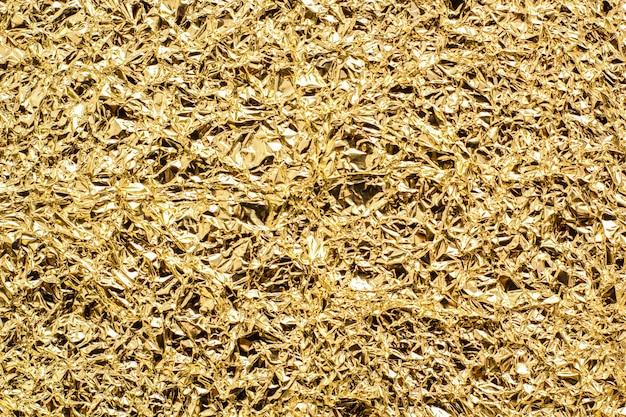 Trama di lamina d'oro Foto Premium