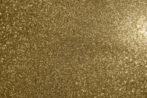 Trama scintillante glitter oro Foto Premium