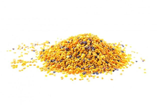 Grani di api polliniche Foto Premium