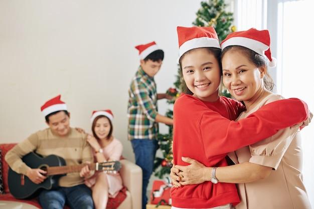Nonna e nipote Foto Premium