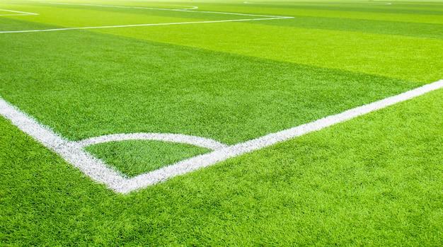 Calcetto indoor, campo da calcetto in erba artificiale Foto Premium