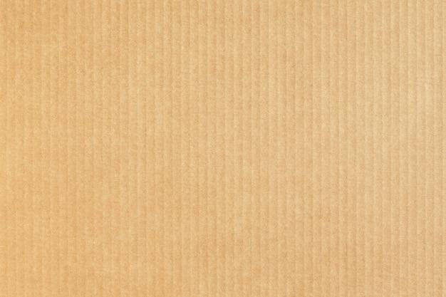 Sfondo di carta kraft. trama di cartone. cartone. Foto Premium