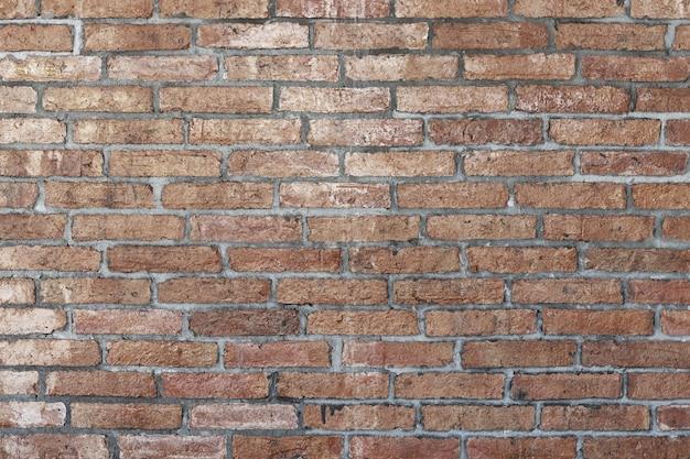 Fondo astratto del muro di mattoni marrone chiaro. texture di mattoni.design del modello per banner web. Foto Premium
