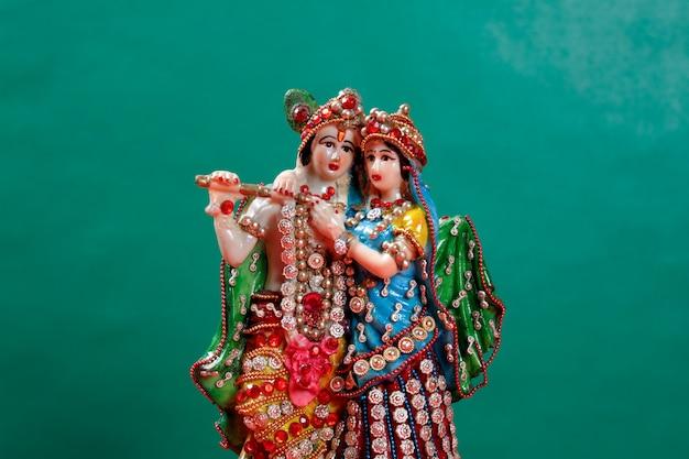 Lord radha krishna Foto Premium