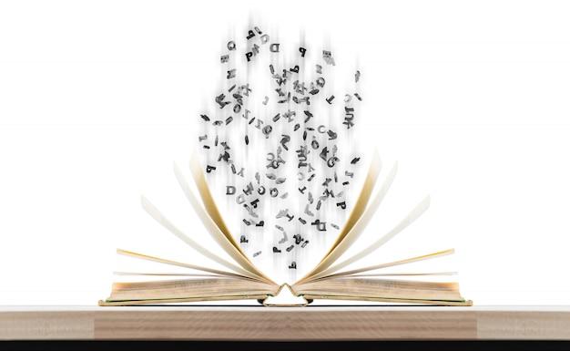 Libri e personaggi magici Foto Premium