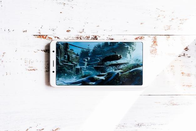Screen saver principale del popolare gioco world of tanks Foto Premium