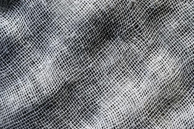 Fondo di struttura del solco della fibra di maglia o del tessuto Foto Premium