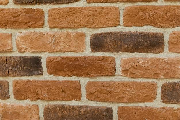 Fondo marrone moderno di struttura del muro di mattoni Foto Premium