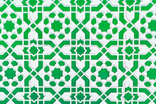 Piastrella marocchina, modello tradizionale senza soluzione di continuità Foto Premium