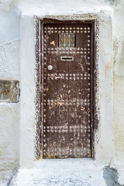 Porte e finestre del marocco Foto Premium