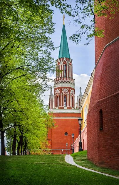 Torre nikolskaya del cremlino di mosca Foto Premium