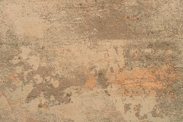 Vecchio sfondo di cemento marrone Foto Premium