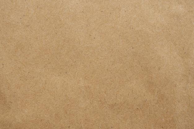 Vecchio cartone marrone eco riciclato carta kraft texture Foto Premium
