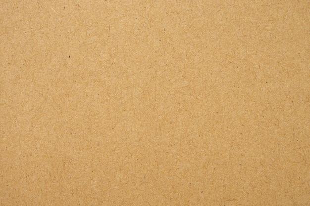Vecchio fondo marrone riciclato del cartone di struttura della carta di eco Foto Premium