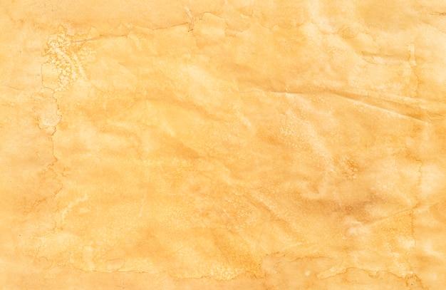 Vecchia struttura di carta, sfondo di carta vintage, vista dall'alto Foto Premium