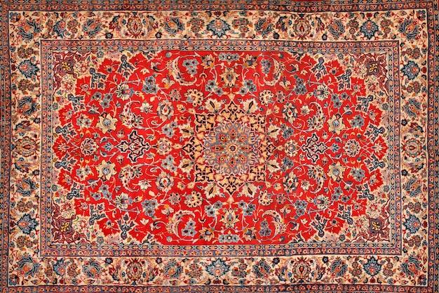 Struttura orientale tappeto persiano Foto Premium