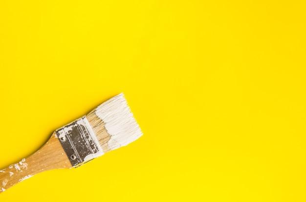 Pennello su carta colore texture di sfondo il concetto di arte Foto Premium