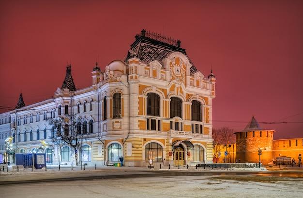 Palazzo del lavoro a nizhny novgorod Foto Premium