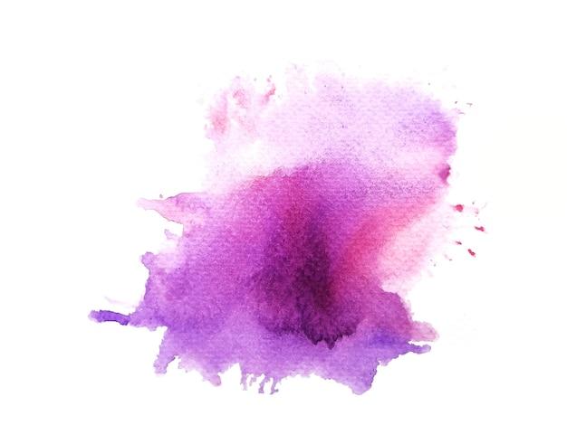 Sfondo acquerello macchia rosa. Foto Premium