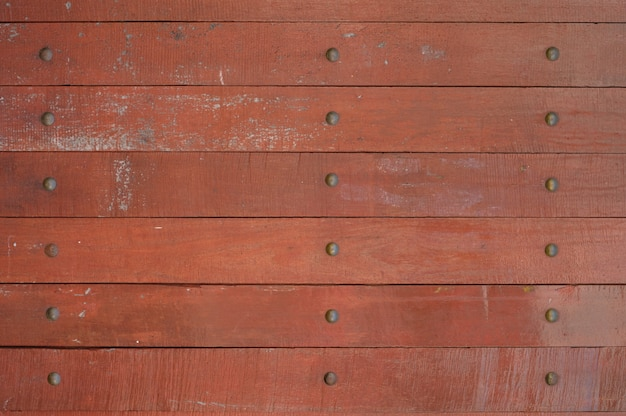 Texture di muro di legno della plancia Foto Premium