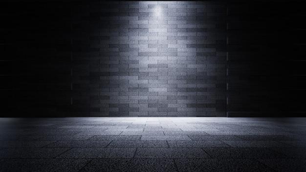 Prodotto showcase spotlight background rendering 3d Foto Premium