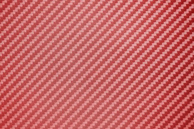 Priorità bassa composita della materia prima della fibra di carbonio rossa Foto Premium