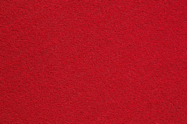 Fine rossa di struttura del panno del tessuto su Foto Premium