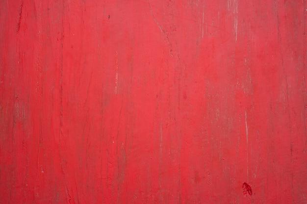 Superficie in legno rosso Foto Premium