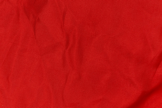 Trama di tessuto rugoso rosso Foto Premium