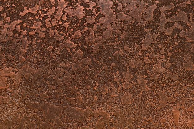 Ruggine su metallo con aspetto ruvido Foto Premium