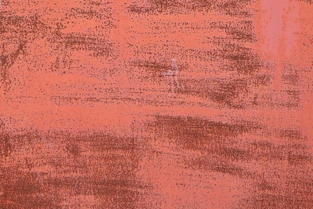 Fondo rosso arrugginito di struttura della superficie del metallo Foto Premium