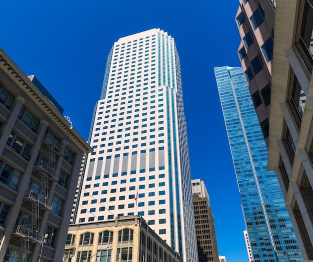 Edifici del centro di san francisco in california Foto Premium