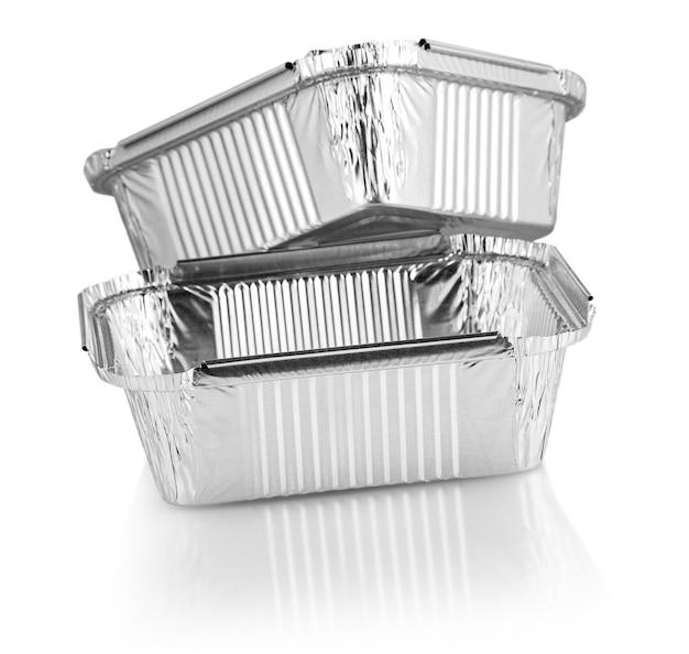 Pirottini quadrati in alluminio Foto Premium