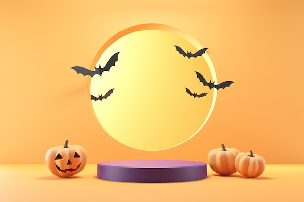 Palco per halloween. Foto Premium