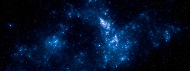 Sfondo del campo stellare. trama di sfondo stellato spazio esterno Foto Premium