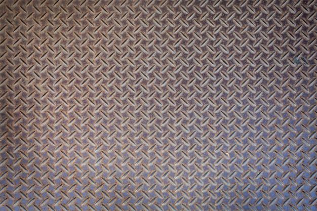 Sfondo di lamiera di acciaio Foto Premium