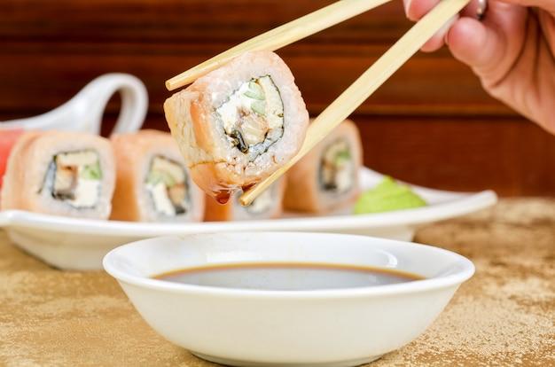 Il sushi Foto Premium
