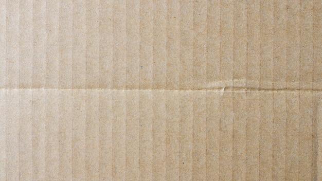 Scatola di carta marrone del fondo di struttura Foto Premium