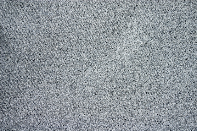 Trama del tessuto di lana grigia. Foto Premium