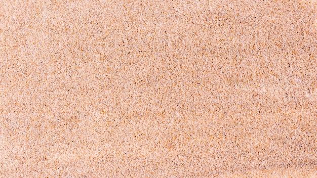 Vista superiore del fondo di struttura della sabbia fine. Foto Premium
