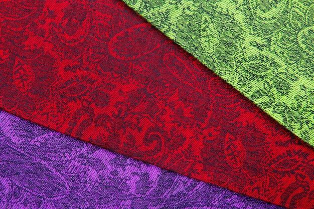 Campione di pashmina in cashmere con motivo paisley tradizionale Foto Premium