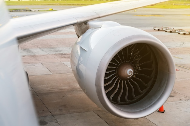 Motore del ventilatore turbo Foto Premium