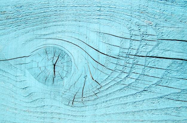 Fondo di legno naturale vuoto della plancia del blu di turchese Foto Premium