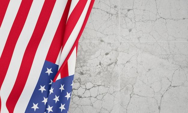 Concetto di elezioni degli stati uniti con lo spazio della copia Foto Premium