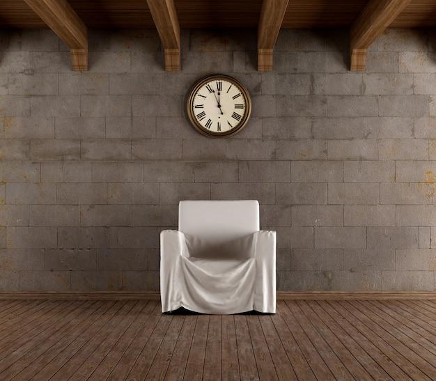Sala del tempo vintage Foto Premium