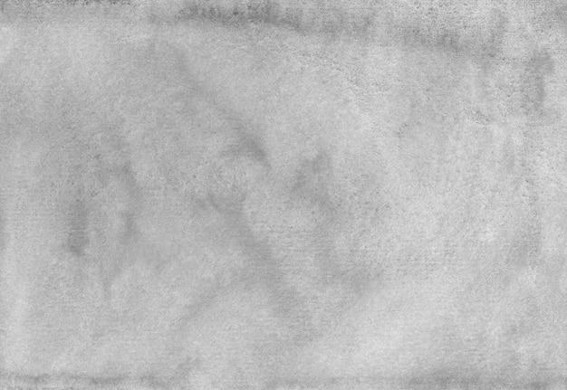 Trama di sfondo grigio dell'acquerello. aquarelle astratto vecchio sfondo monocromatico. Foto Premium
